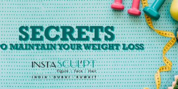 Secret to maintain your weight loss-by Founder of Insta-Sculpt Clinics Dr. Manjiri Puranik