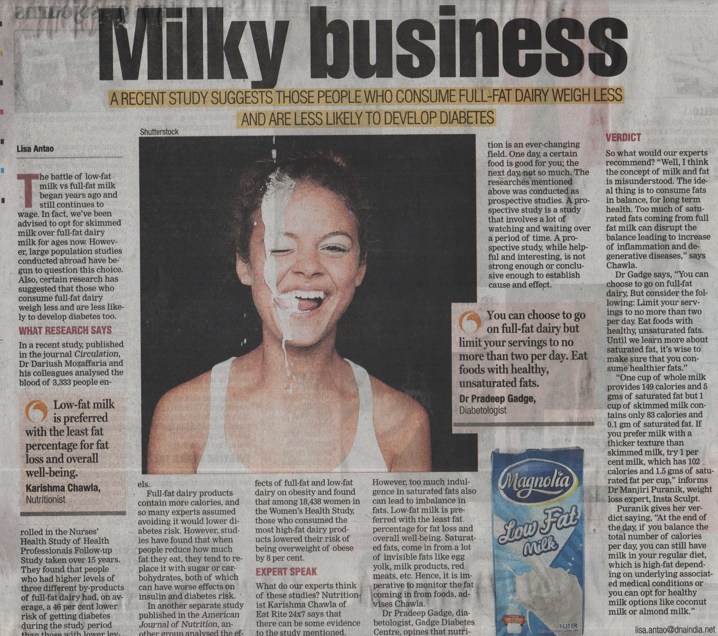 milky business